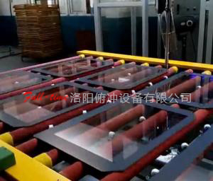 Six working position---Continuous Flat Glass Tempering Furnace